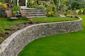 material for your retaining wall