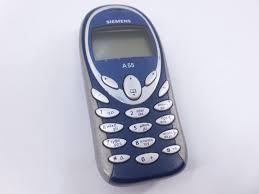 Мобильный телефон Siemens A55 GSM