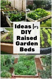 ideas for diy raised garden beds the
