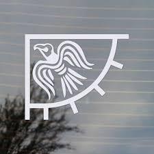 Odin S Raven Banner Vikings Flag Vinyl Decal