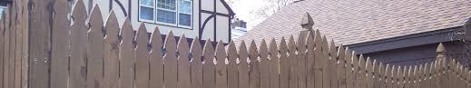 French Gothic Wood Fencing Products Phillips Outdoor Services Onalaska Wi