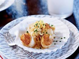 Nantucket Bay Scallops with Bay-scented ...