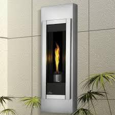 wall mounted gas torch fireplace