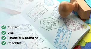 student visa requirements doent