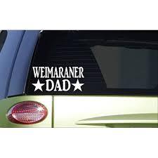 Weimaraner Dad H891 8 Inch Sticker Decal Quail Pointer Bird Hunting Vest Walmart Com Walmart Com