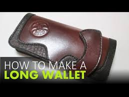 how to make a leather wallet free
