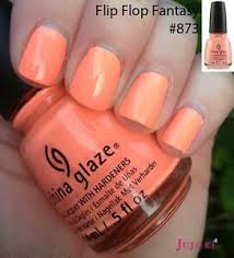 china glaze nail polish flip flop