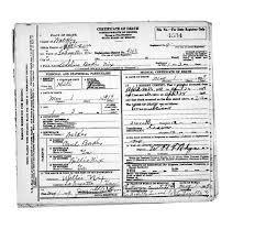 Nix, Adeline Baker - Georgia Death Certificates - Georgia's ...