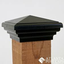 6x6 Post Caps Nominal Black Estate Series Fence Post Caps Privacy Fences Deck Post Caps