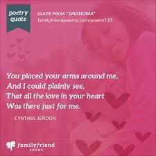 poems for grandmother from grandchildren