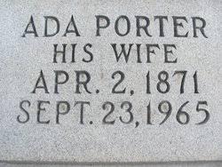 Ada Angeline Porter Barnes (1871-1965) - Find A Grave Memorial