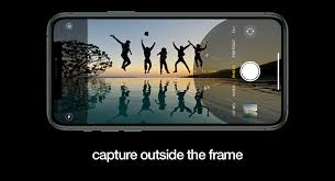 capture outside the frame for photos