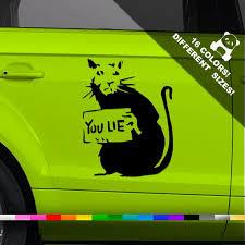 50 Off Banksy Rat Car Vinyl Decal Banksy Graffiti Window Etsy