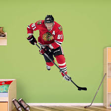 Fathead Nhl Chicago Blackhawks Marian Hossa Wall Decal Walmart Com Walmart Com