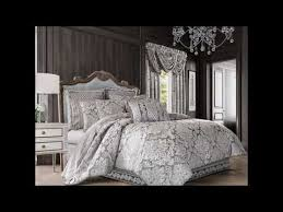 bel air silver 4 piece comforter set by