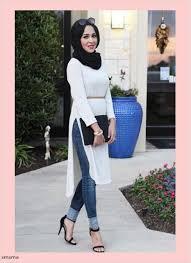 اجمل ملابس بنات محجبات اساسيات حجاب البنات للمدرسه والجامعه