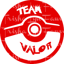 Pokemon Go Team Valor Red Decal Sold By Trishalyn Gifts On Storenvy