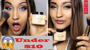 makeup revolution banana powder review