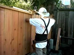 Installing The Fake Fence Posts Youtube