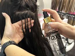 remove glue in hair extensions