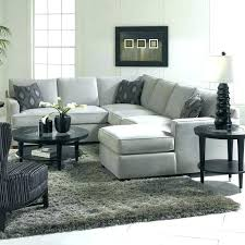 light gray sectional sofa grey leather
