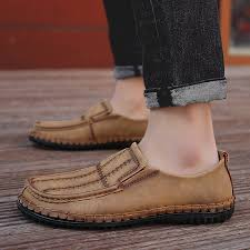 comfortable casual leather shoes men