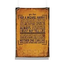 mc sid razz harry potter quotes wall calendar for home office