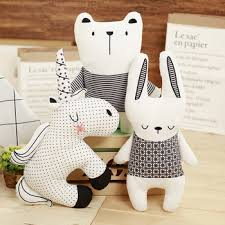 Modern Pillow Nordic Bear Rabbit Unicorn Throw Pillow Cushion Cute Animals Girl Kids Room Cushions Filling Animal Shape Office Buy At The Price Of 12 80 In Aliexpress Com Imall Com