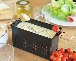 raclette fondue gift box for two
