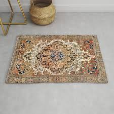 ferahan arak antique west persian rug