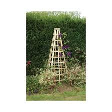 forest garden obelisk garden from