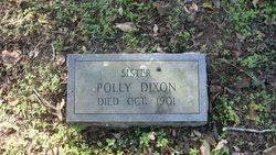 "Mary ""Polly"" Dixon (1817-1901) - Find A Grave Memorial"