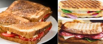 foreman grill sandwich panini recipes