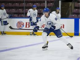 Filling in for Pettersson: Adam Gaudette's back with the Canucks | The  Province