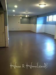 painting basement floors