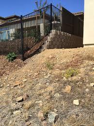 Wrought Iron Fence El Dorado Hills Ca Custom Wrought Iron Fence