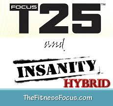 focus t25 hybrid workout schedule