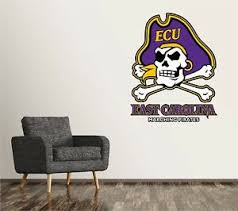 East Carolina Pirates Wall Decal Logo College Ncaa Custom Decor Vinyl Sr154 Ebay
