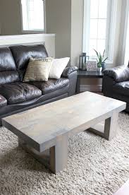 contemporary diy coffee tables