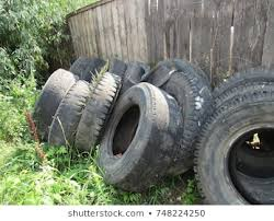 Car Tires To Make Fences Images Stock Photos Vectors Shutterstock