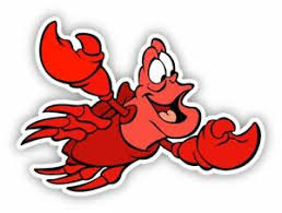 Sebastian Little Mermaid Cartoon Sticker Decal Laptop Wall Car Phone Ebay