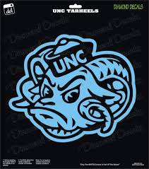 Unc Tarheels Ncaa Design University Football Vinyl Decal Car Window Sticker Ebay Football Vinyl Decal Unc Tarheels Car Decals Vinyl