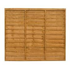 Traditional Lap Fence Panel W 1 83m H 1 52m Departments Diy At B Q