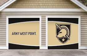 garage door decor army black knights