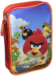 Target Pencil Case Multi Full Angry Birds 17548 Colour - Buy ...