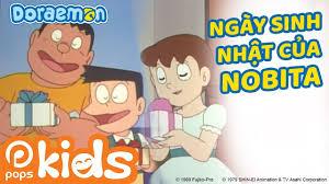 Phim hoạt hình Doraemon Tập 19 - Ngày Sinh Nhật Của Nobita, Thang ...