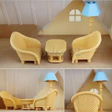 6pcs Set Sofa Table Miniature Doll House Furniture Living Room Kids Play Toys L For Sale Online Ebay