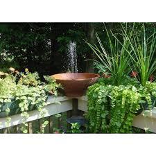 solarrific solar powered water fountain