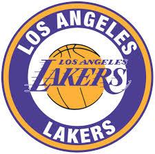 Los Angeles Lakers Circle Logo Vinyl ...