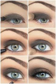 step makeup tutorials for blue eyes